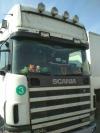 Scania, R420, 2001, 960000, механическая, 12, белый, 49000, Бел. Руб. , продам сцепку, тягач...